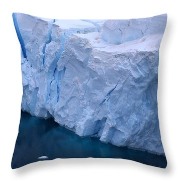 Throw Pillow featuring the photograph Deep Blue by Andrei Fried