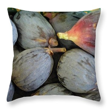Deep, Dark, Delicious Throw Pillow