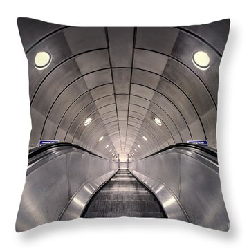 Deep Down Below Throw Pillow