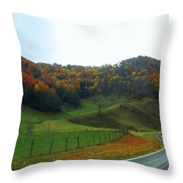 Deep Down Peaceful And Serene Throw Pillow