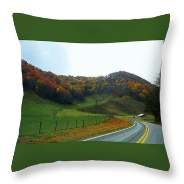 Deep Down Peaceful And Serene Throw Pillow