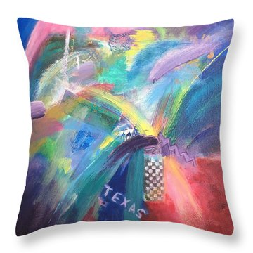 Deep In The Heart. . . Throw Pillow