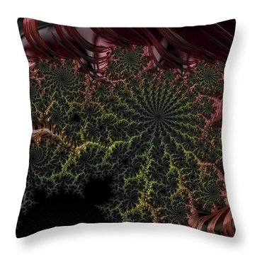 Deep In The Jungle Throw Pillow