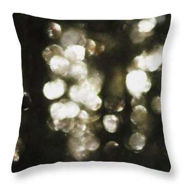 Throw Pillow featuring the photograph Deep In Woods by Yulia Kazansky