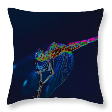 Deep Ocean Dragon Throw Pillow by Richard Patmore