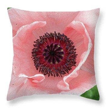 Deep Pink Throw Pillow