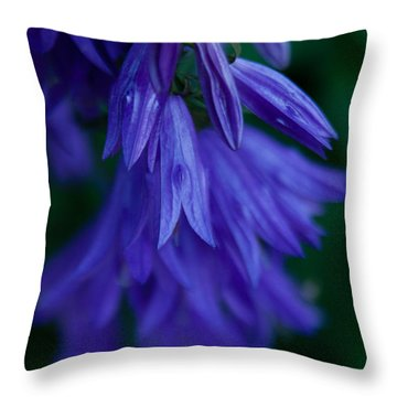 Throw Pillow featuring the photograph Deep Purple by Erin Kohlenberg