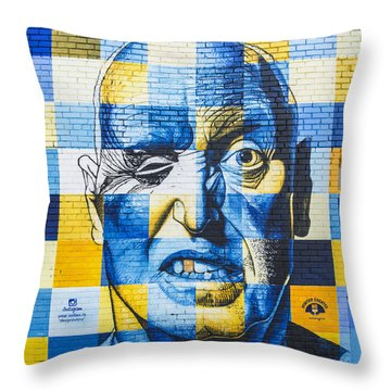 Deep Rawlins Throw Pillow