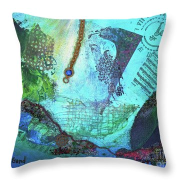 Deep Sea Life Throw Pillow