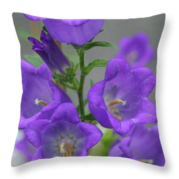 Deep Shade Of Purple Throw Pillow
