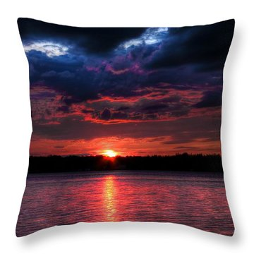 Deep Sky Throw Pillow