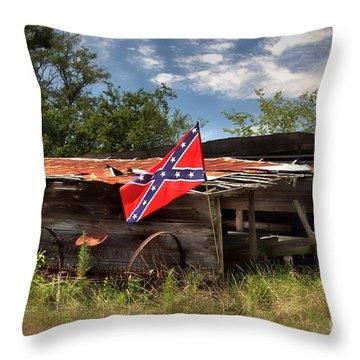Deep South Farm Throw Pillow