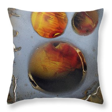 Deep Space Throw Pillow by Arlene  Wright-Correll