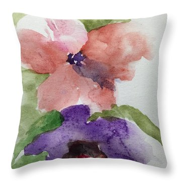 Deep Within Throw Pillow by Trilby Cole