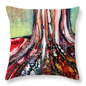 Airbrushed Throw Pillows