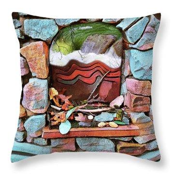 Deer Creek Altar Throw Pillow