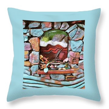 Deer Creek Altar Throw Pillow