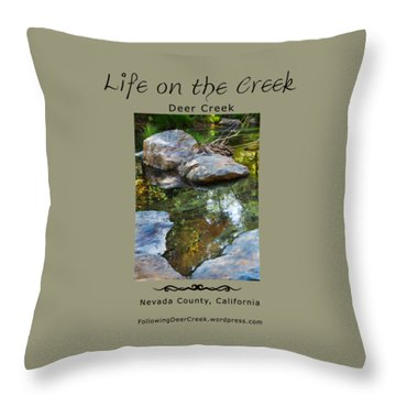 Deer Creek Point Throw Pillow