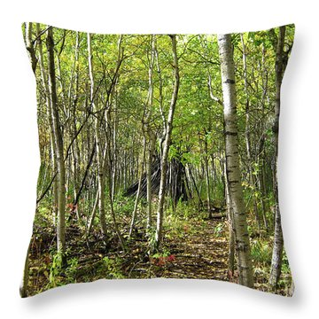 Deer Hide Throw Pillow