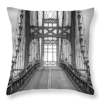 Deer Isle Sedgwick Bridge Throw Pillow