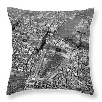 Throw Pillow featuring the photograph Defence Of The Realm by Gary Eason
