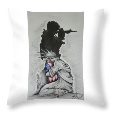 Soldier Throw Pillows