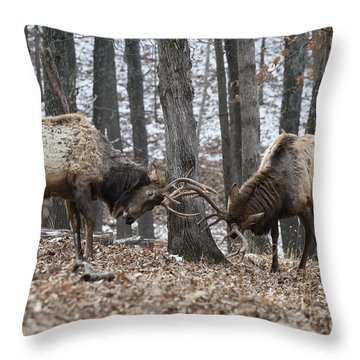 Defense Throw Pillow