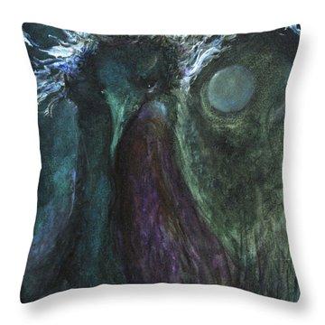 Deformed Transcendence Throw Pillow by Christophe Ennis