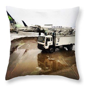 De-icing Throw Pillow