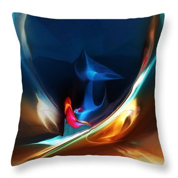 Deja Vu Throw Pillow by David Lane