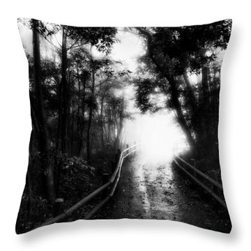 Throw Pillow featuring the photograph Dejavu by Hayato Matsumoto
