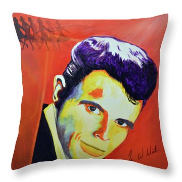 Del Shannon Throw Pillow