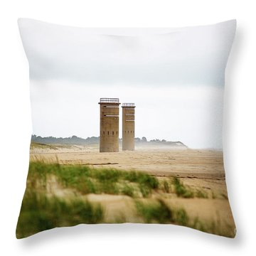 Delaware Towers Throw Pillow