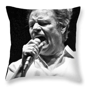 Delbert Mcclinton Sings The Blues Throw Pillow