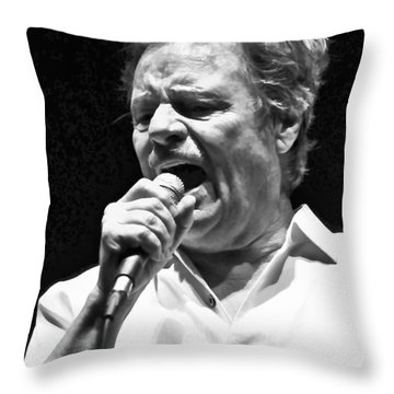 Delbert Mcclinton Sings The Blues Throw Pillow