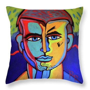 Delectable Strawberry Man By Robert Erod  Artist Throw Pillow