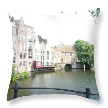 Delfshaven 2 Throw Pillow