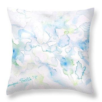 Delicate Elegance Throw Pillow