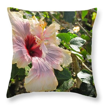 Delicate Expression Throw Pillow