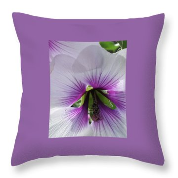 Delicate Flower 2 Throw Pillow