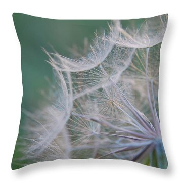 Delicate Seeds Throw Pillow