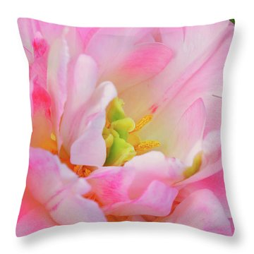 Delicate Tutu Throw Pillow