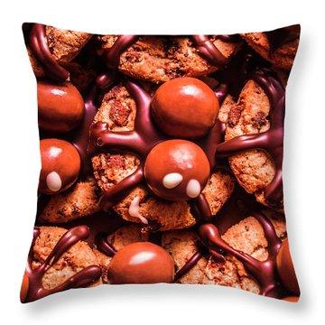 Delicious Halloween Fun Throw Pillow