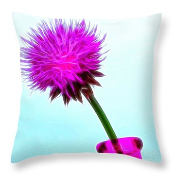 Delightfully Yours Throw Pillow