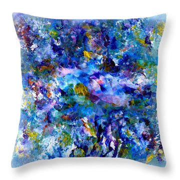 Delightfuly Beautiful Throw Pillow