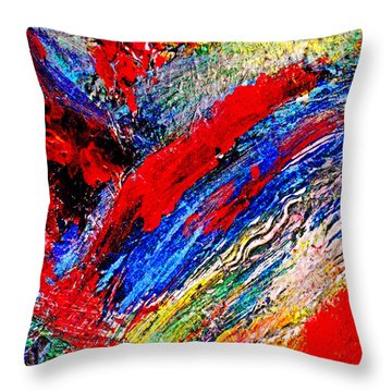 Delirium Throw Pillow by Michael Durst