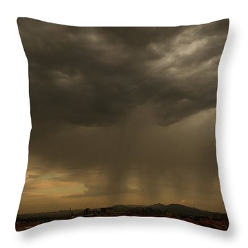 Deliver The Rain Throw Pillow