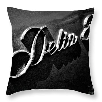 Delta 88 Badge Throw Pillow