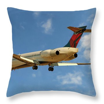 Delta Photographs Throw Pillows