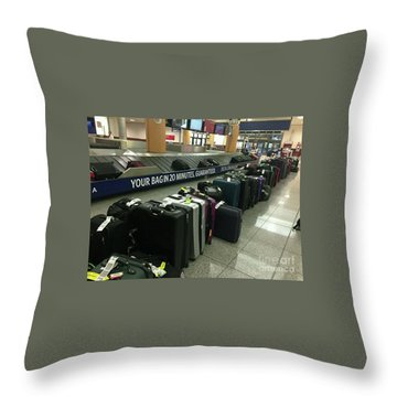 Throw Pillow featuring the photograph Delta Irony by David Bearden